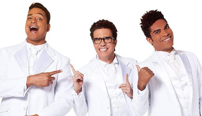 Xanddy, Tuca e Denny estarão em loja vendendo ingressos do Réveillon - Foto: Divulgação