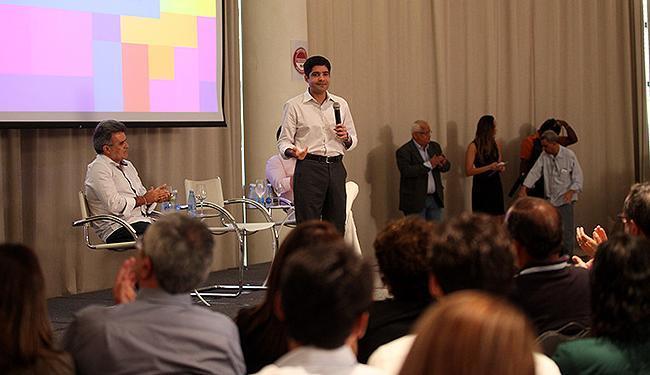 Prefeito ACM Neto falou sobre as alterações no Carnaval durante coletiva - Foto: Edilson Lima l Ag. A TARDE