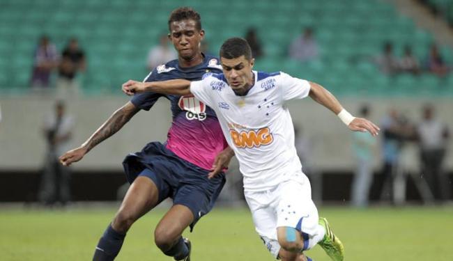 No primeiro turno, Bahia foi derrotado em casa pelo Cruzeiro por 3 a 1 - Foto: Eduardo Martins   Ag. A Tarde