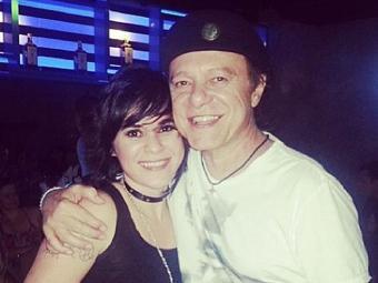 Thathi e o convidado Armandinho - Foto: Reprodução | Facebook