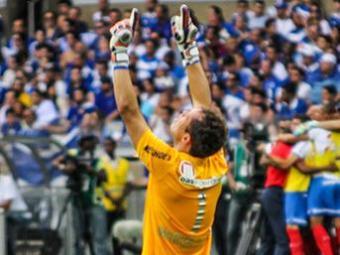 Após garantir o Bahia na Série A com belas defesas, Lomba foi eleito o melhor da rodada - Foto: Estadão Conteúdo