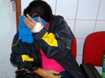 Priscila não quis falar com a imprensa - Foto: Reprodução | Acorda Cidade