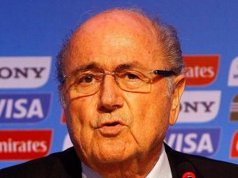 Presidente da Fifa sauda