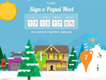 Ferramenta irá rastrear o trajeto do Papai Noel - Foto: Reprodução | Santa Tracker