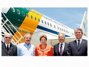 Dilma embarca com Sarney, Lula, FHC e Collor para funeral - Foto: Agência Brasil