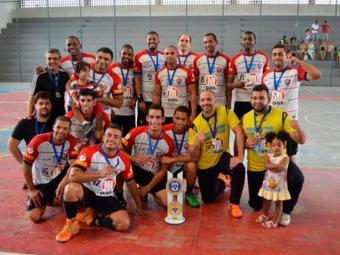 Time de handebol chegou à final credenciado pela ótima partida na semifinal - Foto: Esporte Clube Vitória | Divulgação