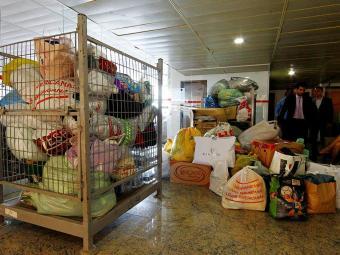 Doações no Tribunal de Justiça da Bahia - Foto: Eduardo Martins | Ag. A TARDE