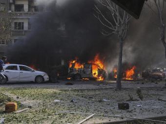 Damasco também convive com a guerra - Foto: Efe