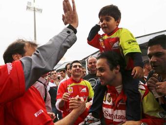 Massa se despede da Ferrari - Foto: Agência Reuters
