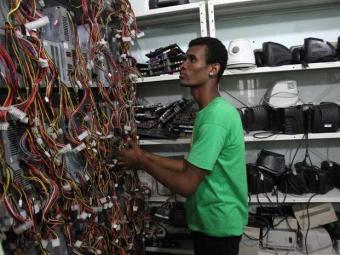 Brasil e México foram os países que geraram mais lixo eletrônico - Foto: Lúcio Távora   Ag. A TARDE