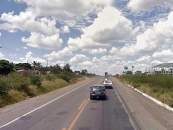Pontos com quebra-molas são alvos de assaltantes no bairro de Novo Horizonte - Foto: Reprodução | Google Maps