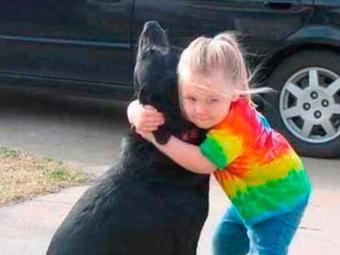 Menina pediu que Deus cuidasse de sua cadela que morreu - Foto: Divulgação