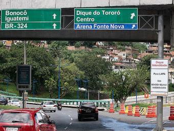 Modificações no trânsito começam nesta quarta-feira, 18 - Foto: Mila Cordeiro | Ag. A TARDE