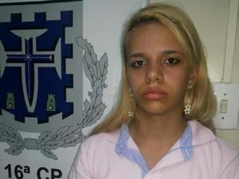 Bruna Sousa Costa dos Santos, de 22 anos - Foto: Divulgação/Polícia Civil
