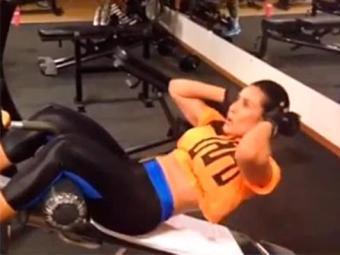 Sheila mostrou parte do treino e da dieta que faz para manter a boa forma - Foto: Instagram | Reprodução