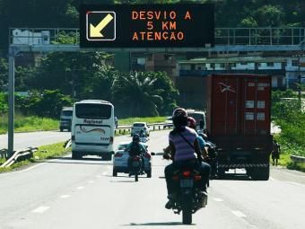 PRE informa que não foi necessário reforço policial nas rodovias - Foto: Adilton Venegeroles / Ag. A TARDE
