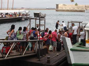 Travessia de Mar Grande funcionará até às 20 horas - Foto: Edilson Lima   Ag. A TARDE