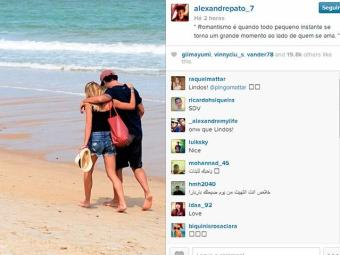 Jogador está em Trancoso com a namorada - Foto: Reprodução | Instagram