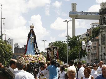 Ruas serão interditadas para a passagem do cortejo de Bom Jesus dos Navegantes - Foto: Gildo Lima | Arquivo | Ag. A TARDE