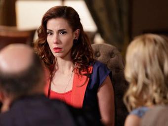 Iolanda é inocentada do crime de adultério depois que Dália confessa armação - Foto: Reprodução   TV GLOBO