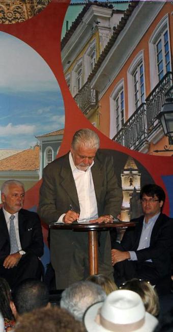 Governador Wagner anuncia intervenções no Centro Histórico - Foto: Manu Dias | Divulgação | GOVBA