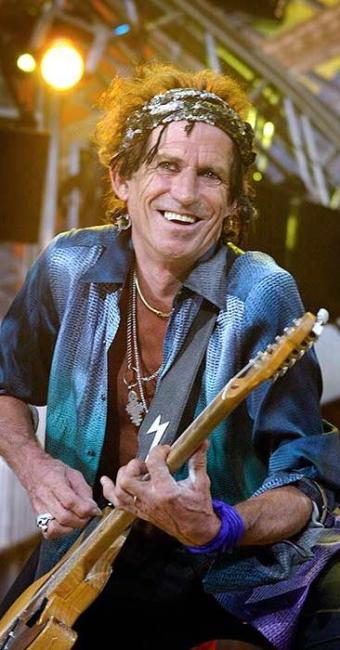 Guitarrista criou algumas das melhores canções da banda Rolling Stones - Foto: Agência Reuters
