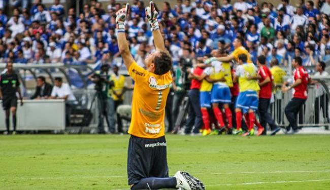 Lomba comemora o triunfo do Bahia que garantiu o time na série A - Foto: Estadão Conteúdo