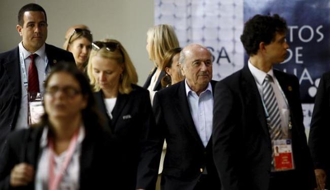 Presidente da Fifa já está na Bahia para o sorteio de sexta - Foto: Fernando Vivas / Ag. A Tarde