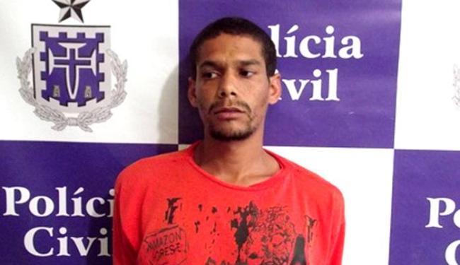 Gemilton só foi capturado um mês após atacar a filha - Foto: Divulgação   Polícia Civil
