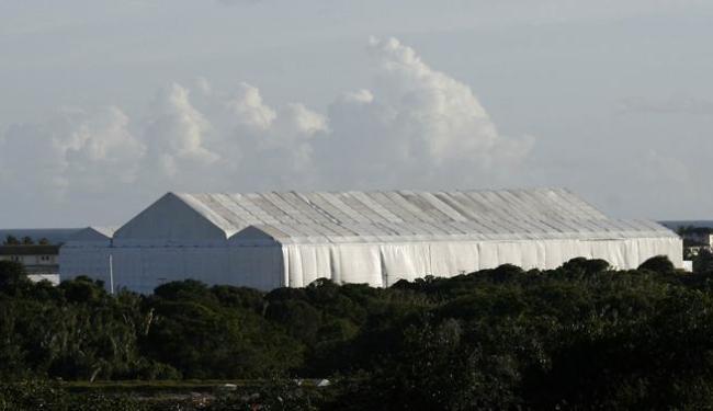 Governo desembolsou R$ 6,4 milhões para montar tenda dentro do complexo hoteleiro da Costa do Sauípe - Foto: Raul Spinassé / Ag. A TARDE
