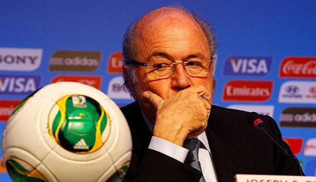 Presidente da Fifa confirma jogos da Copa às 13 horas - Foto: Eduardo Martins | Ag. A TARDE