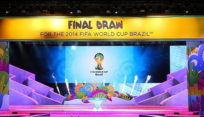Sorteio determinará os 8 grupos que darão forma à Copa de 2014 - Foto: Divulgação l Fifa