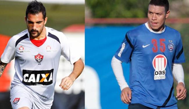 Escudero deve permanecer no Leão; já Marquinhos não quer ficar no tricolor em 2014 - Foto: Fotos: Eduardo Martins   Ag. A Tarde
