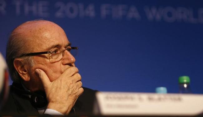 Segundo o presidente da Fifa, Joseph Blatter, não há Plano B para a abertura da Copa - Foto: Raul Spinassé / Ag. A TARDE