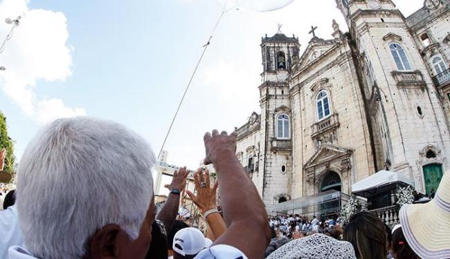 Haverá missas na Basílica Santuário Nossa Senhora da Conceição da Praia - Foto: Lúcio Távora / Ag. A Tarde