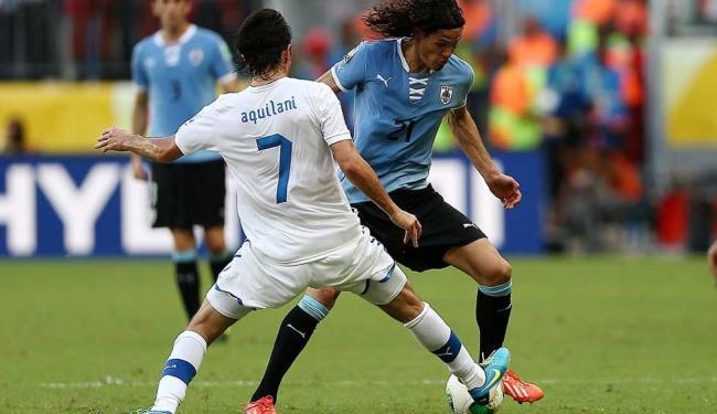 Seis títulos mundiais em campo: Itália e Uruguai vão reeditar 3º lugar da Copa das Confederações - Foto: Eduardo Martins | EFE