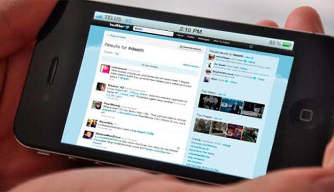 Acordo entre Twitter e empresa de Cingapura vai permitir uso do microblog mesmo sem internet - Foto: Divulgação