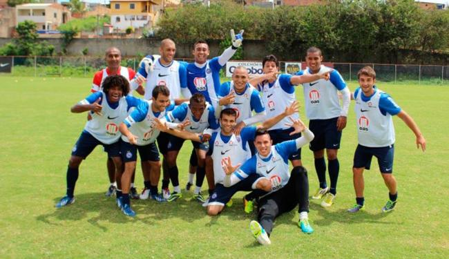 Bahia encerrou temporada 2013 em clima descontraído no Fazendão - Foto: Esporte Clube Bahia | Divulgação