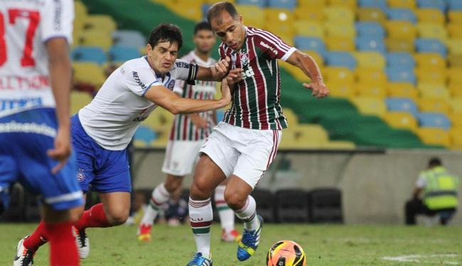 lance de Fluminense x Bahia, no 1º turno do Brasileirão - Foto: Fernando Cazaes | Photocamera | Arquivo A TARDE