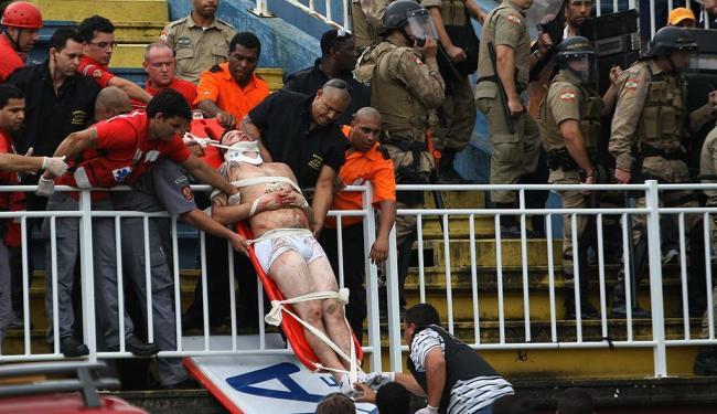 Três pessoas foram encaminhadas para um hospital da cidade - Foto: Joka Madruga   Estadão Conteúdo