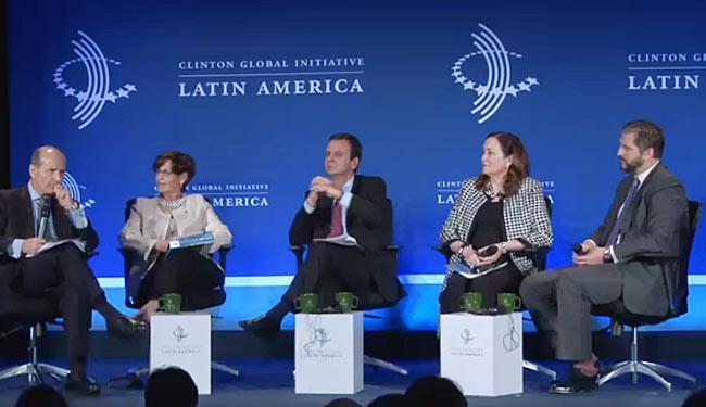 Debate do dia: sobrerevitalização e transformação econômica na AL e mulheres empreededoras - Foto: Reprodução
