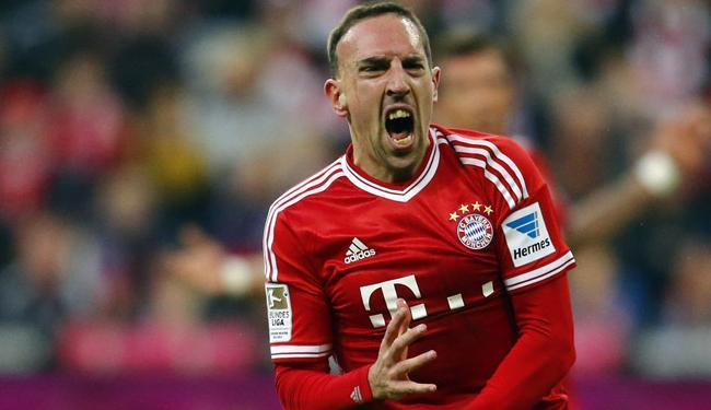 Pela 1ª vez, o francês Ribery aparece entre os indicados ao prêmio de melhor do mundo - Foto: Michael Dalder   Agência Reuters