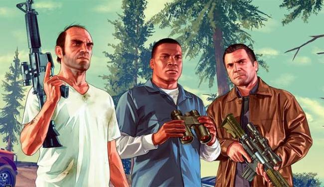 Trevor, Franklin e Michael protagonizam GTA V - Foto: Divulgação