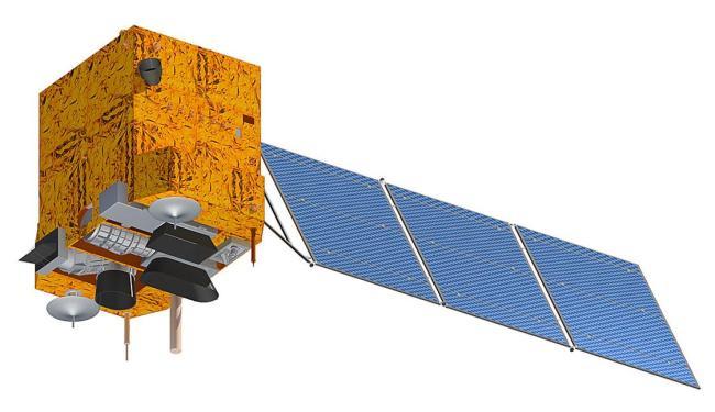 Satélite sino-brasileiro CBERS-3 foi lançado da China - Foto: Divulgação   CBERS