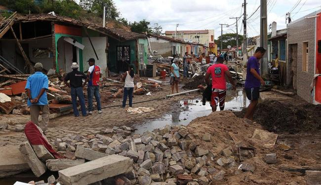 Mais de 200 famílias estão desabrigadas - Foto: Haroldo Abrantes | GOVBA