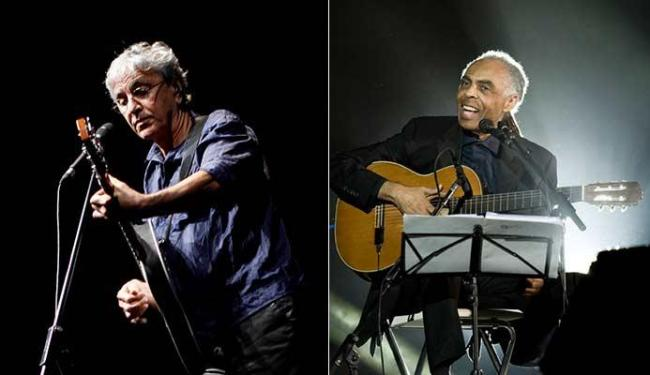 Caetano Veloso e Gilberto Gil vão fazer a festa no Mercado Modelo - Foto: Fernando Vivas | Ag. A TARDE | Divulgação
