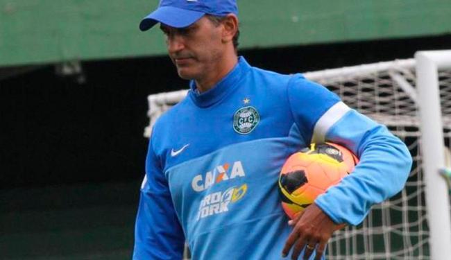 Último time de Chamusca foi o Coritiba, de onde saiu após 11 jogos e três vitórias no Brasileirão - Foto: Site oficial do Coritiba   Divulgação