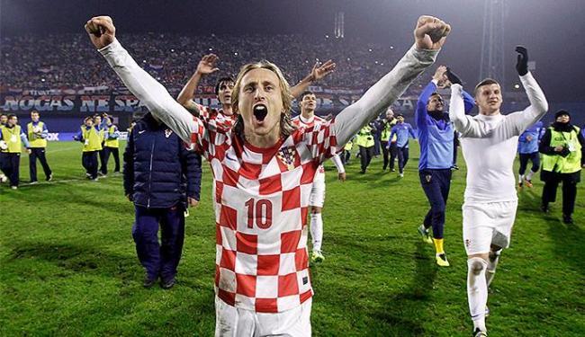 Seleção croata de Luka Modric será a adversária da estreia do Brasil no Mundial - Foto: Antonio Bronic l Reuters