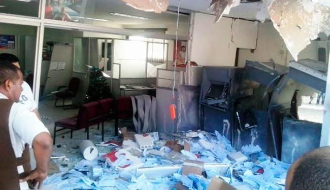 Bandidos usaram dinamites para explodir os caixas em Milagres - Foto: Divulgação   Criativa On Line