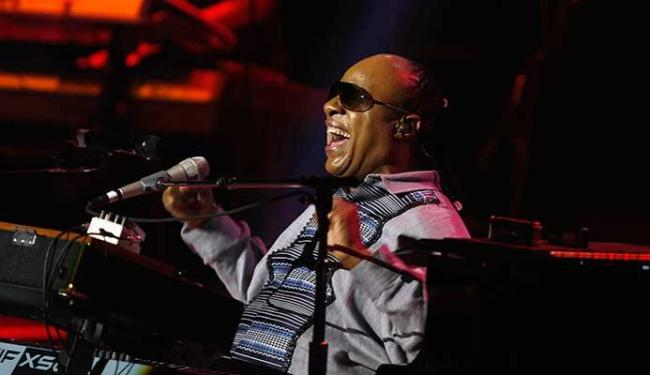 Stevie Wonder se apresentou em Brasília no sábado, 7 - Foto: Agência Reuters